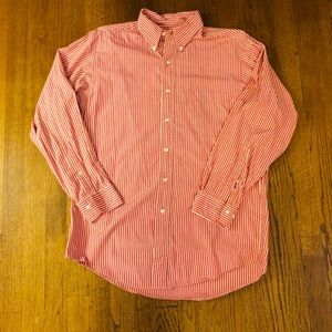 NWOT Brooks Brothers red and white button down